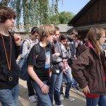 Les élèves à Auschwitz 1
