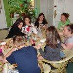 Petit déjeuner des filles