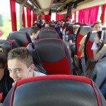 En route pour Cluj-Napoca